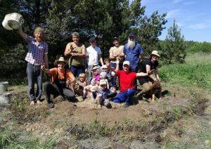 biokonstrukcija, medeliai, sodintojai, sodiname